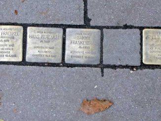 Stolpersteine in Hamburg